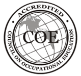 COE Accredited - Council on Occupational Education Logo